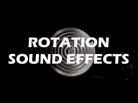 rOtation - impressive sound effects from rotating objects
