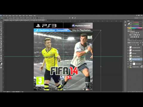 How to make your own FIFA 14 cover in Photoshop