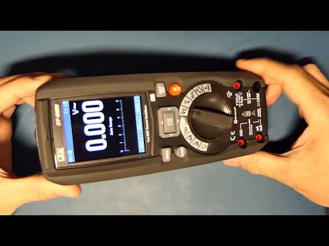 CEM DT-9889 Thermal Multimeter Review