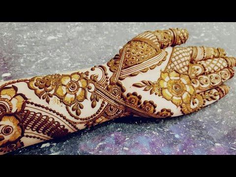 Ramazan Special Mehndi Design 4 2018 Heena Vahid