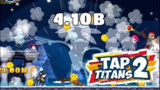 Tap Titan 2 rank 1 Tour crafting Mythic Rune Sword - 富武庭