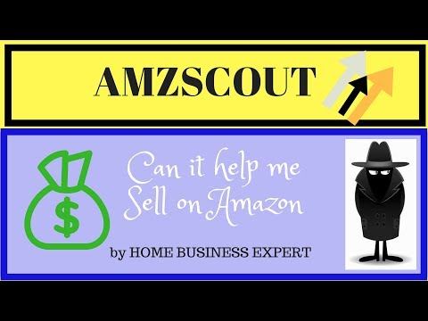 What software can I use to find products to sell on Amazon - AMZSCOUT Extension