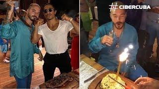 J Balvin celebra un excéntrico y polémico cumpleaños con el famoso chef Salt Bae