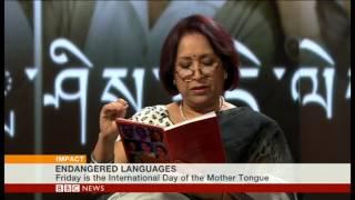 "BBC World News ""Impact"": World Mother Language Day and Endangered Languages"
