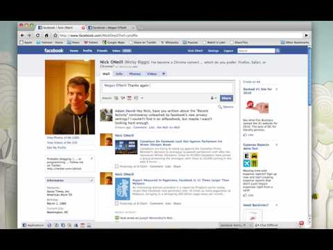 How To Create A Private Facebook Wall Post
