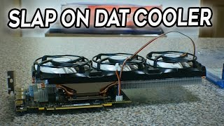 The Neglected Accelero Vs  the Windforce GPU Cooler - 21