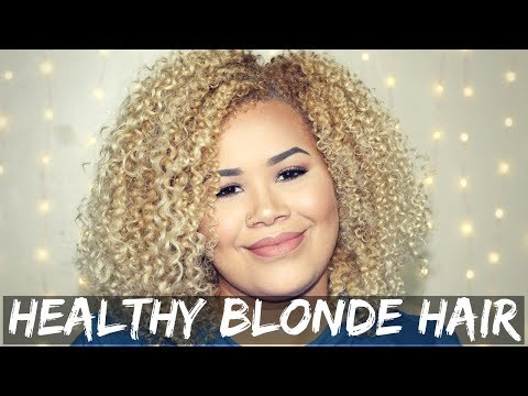 The BEST Tips to Keep Blonde Hair Healthy | Naturally Sade
