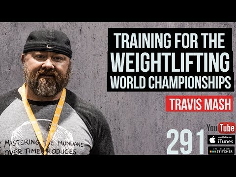 Training for the Weightlifting World Championships with Travis Mash - 291