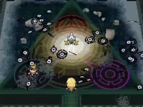 Pokémon SoulSilver Walkthrough Deutsch Part 74 - Das Arceus-Event