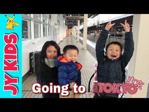 Japan with Kids - Flight to Tokyo [Japan Airline] Flying with Kids