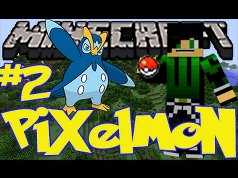 Evolution? Piplup Evolves To Prinplup | Pixelmon Survival #2 | Minecraft | The Golden Pokeball