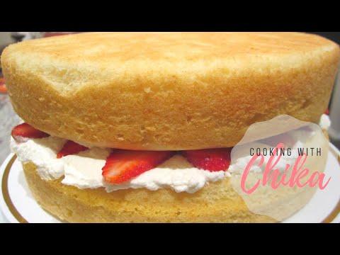 Perfect Light and Fluffy Vanilla Cake – BEST Sponge Cake Recipe | Borrowed Delights – Episode 41
