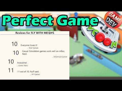11/10 GAME CREATED - PERFECT GAME - Game Dev Tycoon #20