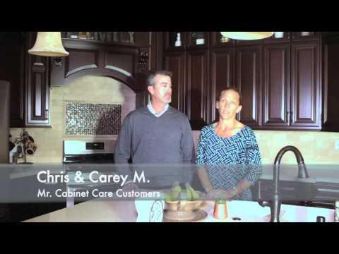 Chris & Carey testimonial C for Mr Cabinet Care