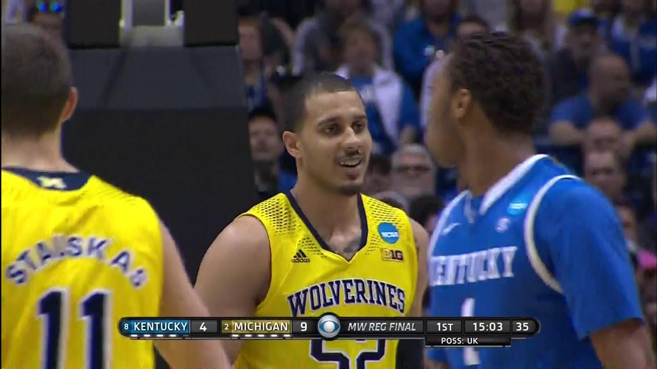 Kentucky vs Michigan Elite 8 14