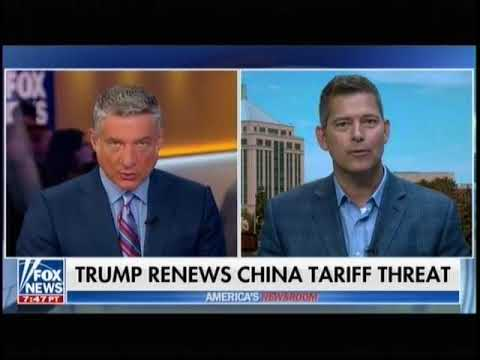 Sean Duffy discusses Chinese Trade Tariffs on America's Newsroom