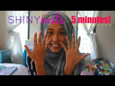 Shiny nails in 5 minutes! || Life of A Dewi