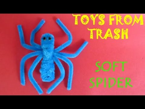 Soft Spider | Telugu | Fun with Pipe Cleaners