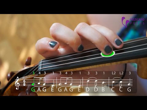 How to play Silent Night on the violin [PLAY ALONG]