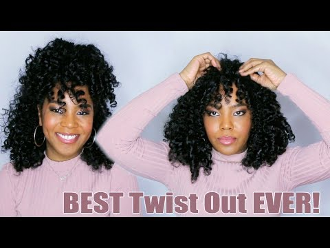 The Best Twist Out EVER! |+ 4 Styles | Smooth 'N Shine NEW Camellia Oil and Shea Butter Collection