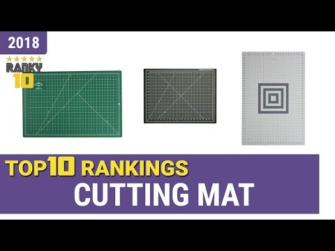 Best Cutting Mat Top 10 Rankings, Review 2018 & Buying Guide