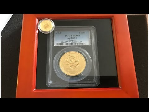 Gold Unboxing From Apmex