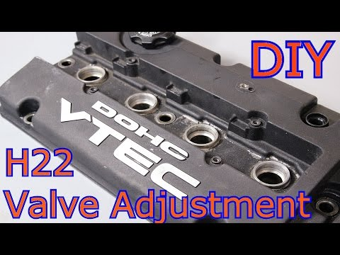 How To Do A Valve Adjustment On Your Honda Prelude H22 BB6