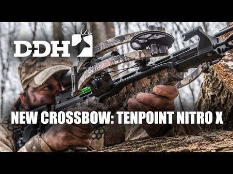 New Hunting Crossbow: TenPoint Nitro X | Innovation Zone @deerhuntingmag