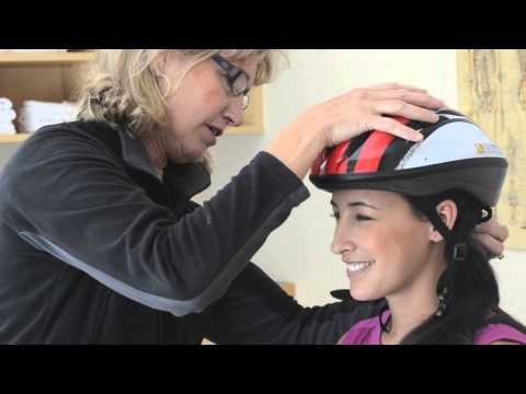 Bike Helmet Fitting | Olympic Physical Therapy