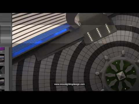 How to create a curved ramp