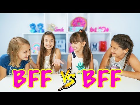 WHO KNOWS ME BETTER? BFF vs BFF CHALLENGE with Hatchimals Colleggtibles Season 3