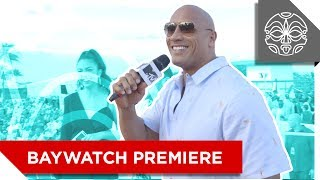 "Dwayne ""The Rock"" Johnson's Miami Beach Takeover"