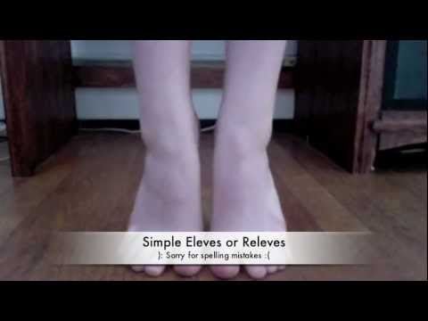 Exercises to help strengthen ankles for pointe