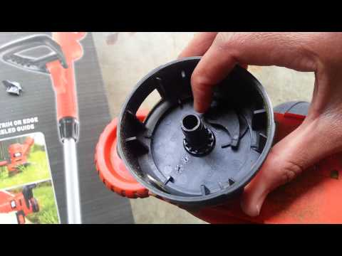 Learn how to Disable Auto-feed on Black & Decker 6.5 AMP String Electric Trimmer?
