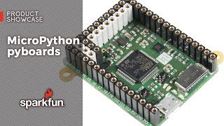 Product Showcase: MicroPython pyboards