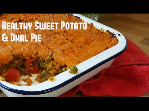 Sweet Potato and Lentil Dhal Pie | Slimming Recipes