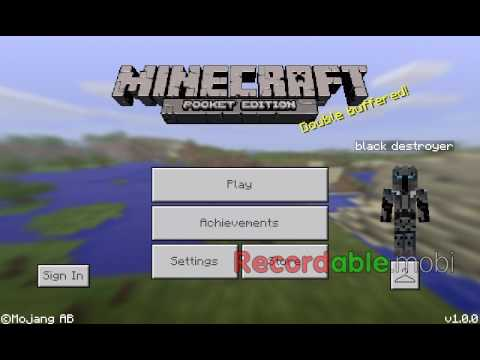 how to make magnet in minecraft pe