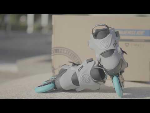 2018 Powerslide Kaze Trinity 90 mm Inline Skates 【4K】