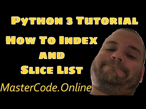 How To Index and Slice List In Python 3