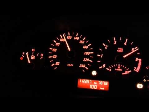 Bmw e46 325Ci cabrio 0-180km/h
