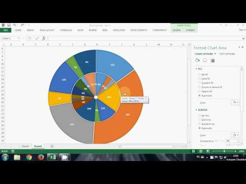 HowTo: Multilevel Pie in Excel