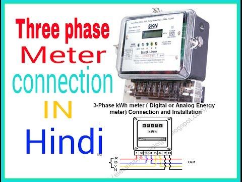 Terrific Meter Wiring Connection In Hindi Hindi Urdu Electrical Meter Box Wiring 101 Ponolaxxcnl