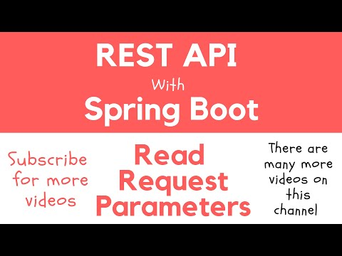 REST API with Spring Boot - Reading Query String Request Parameters with @RequestParam