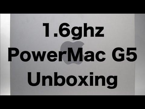 1.6GHz PowerMac G5 Unboxing (2003) | The PowerPC Hub