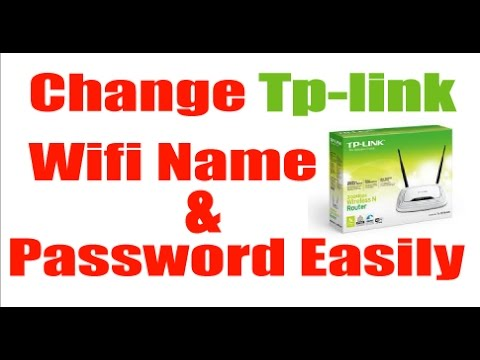 How to change wifi name and password | Bangla Tutorial(TP-LINK)