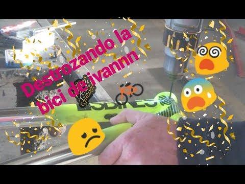 Ivan rompe su bici de Dirt// skatepark via hispanidad