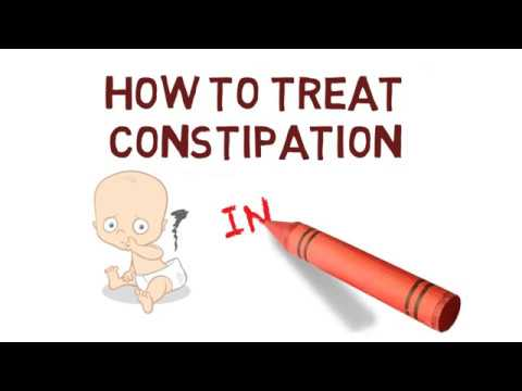 HOW TO TREAT CONSTIPATION IN INFANTS