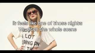 Taylor Swift - 22 (Lyrics)