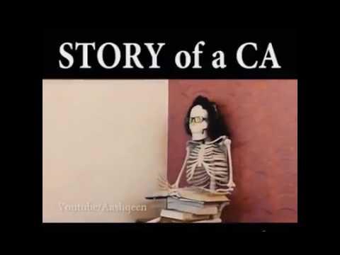 funny video on CA student life   ca funny   ca jokes   icai   chartered accounts