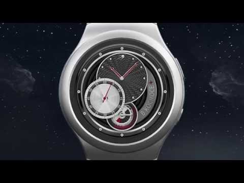 Kosmos Watch Face for Android Wear and Samsung Gear S2 / S3